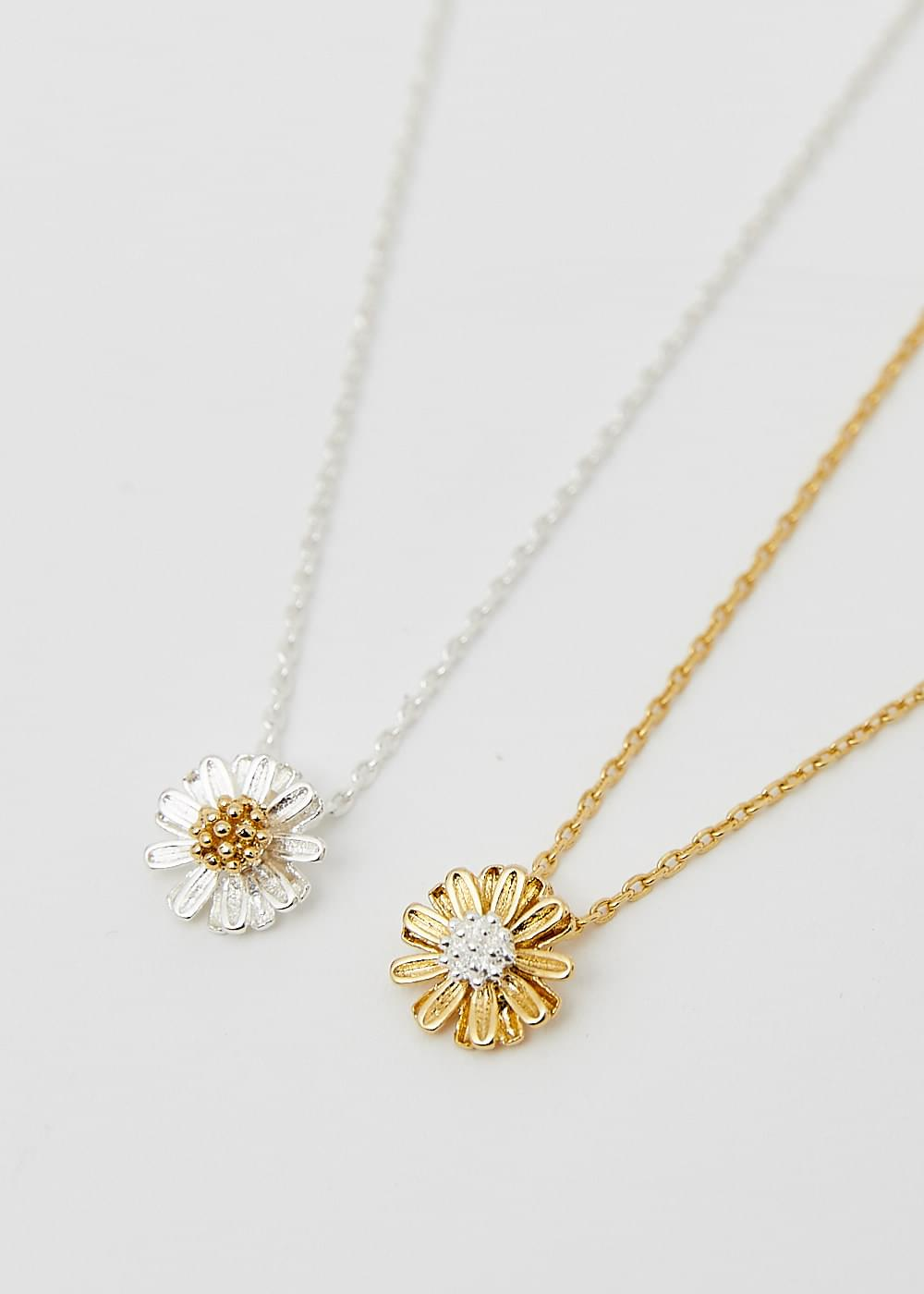 Small dandelion necklace (Delayed delivery)