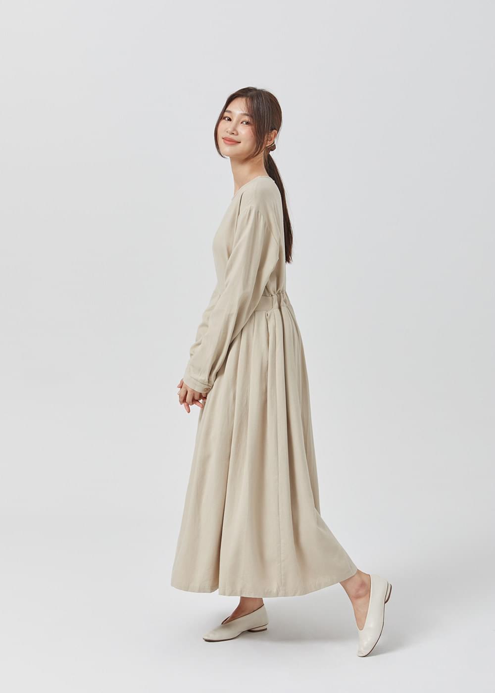 Cotton round dress