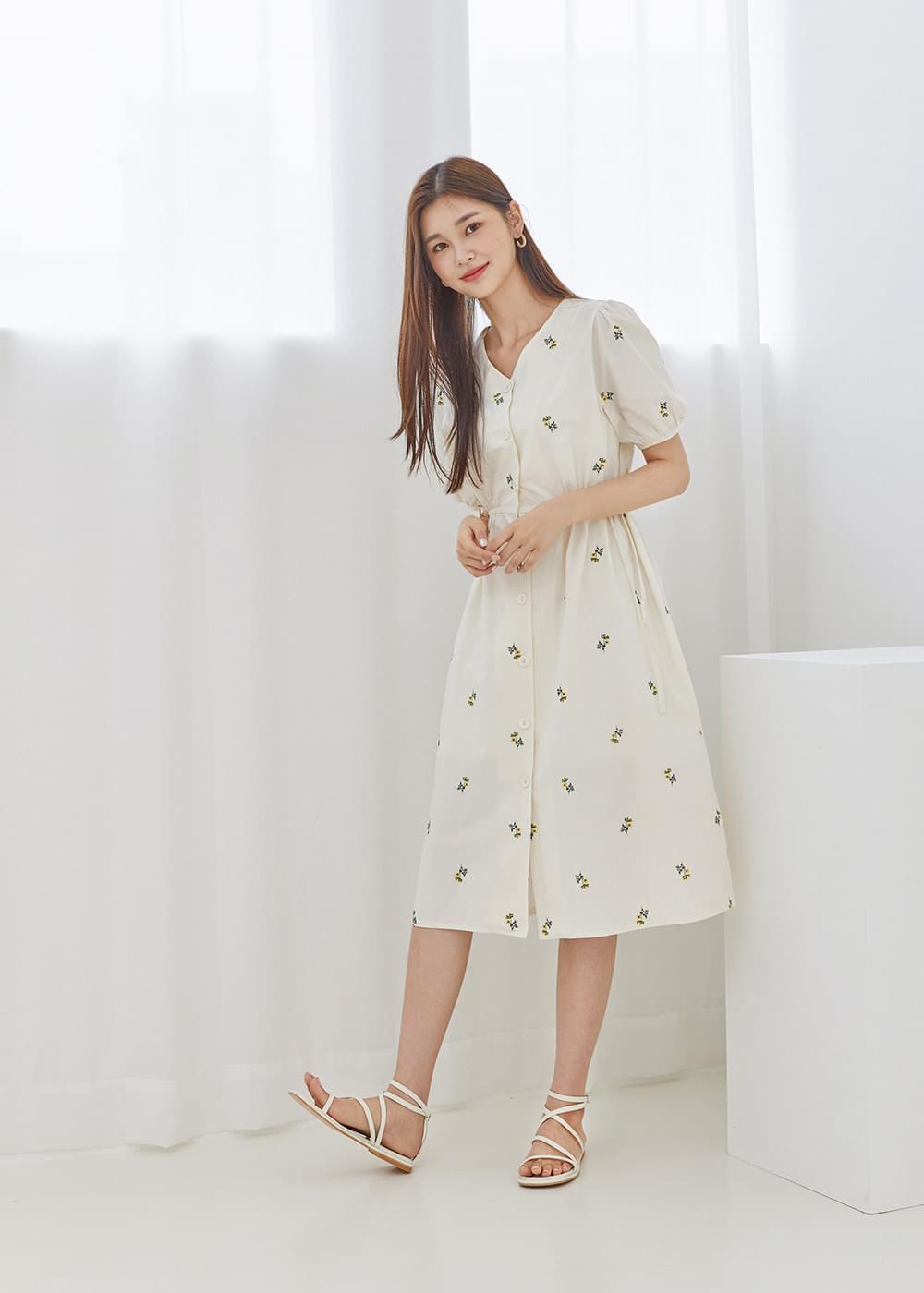 Flower balloon dress