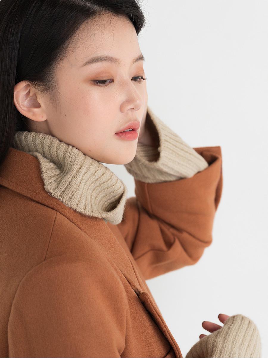 Classic Basic Fit Wool Coat