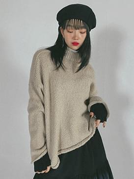 Alpaca Lec Cropped Knit