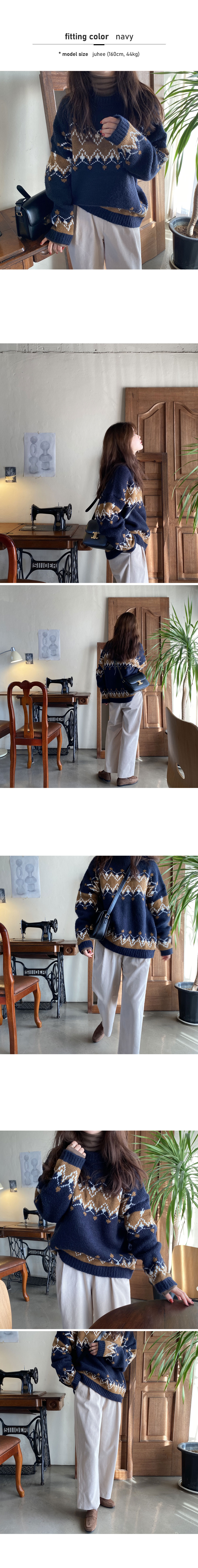 Tori Vintage Loose Fit Knit