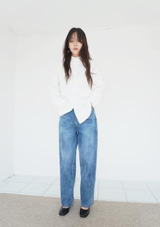 韓國空運 - breezing washed denim 牛仔褲