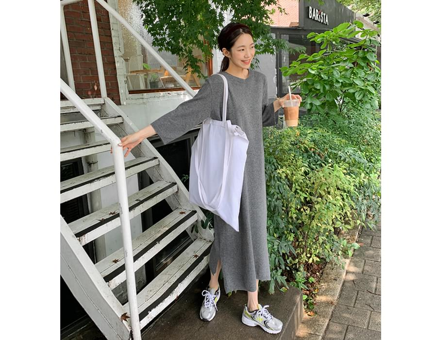 Page Wool Knit Long One Piece