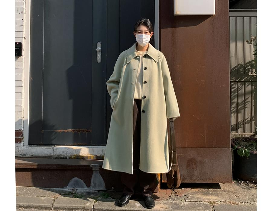 Day handmade long coat