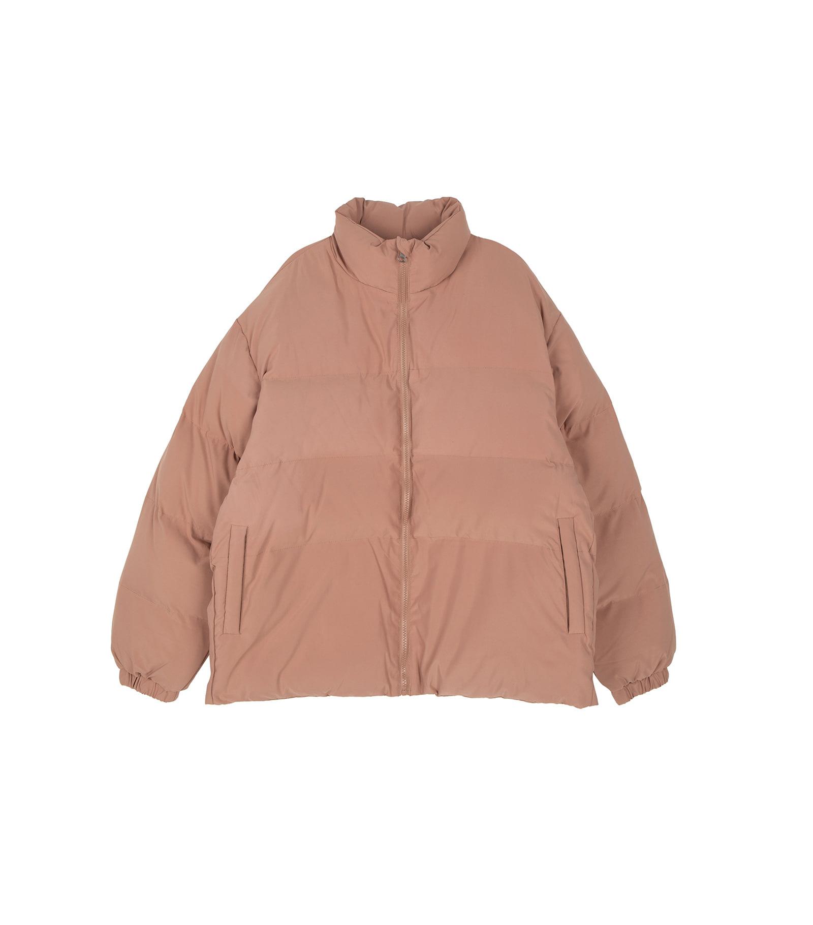 Unisex fuzzy padded coat