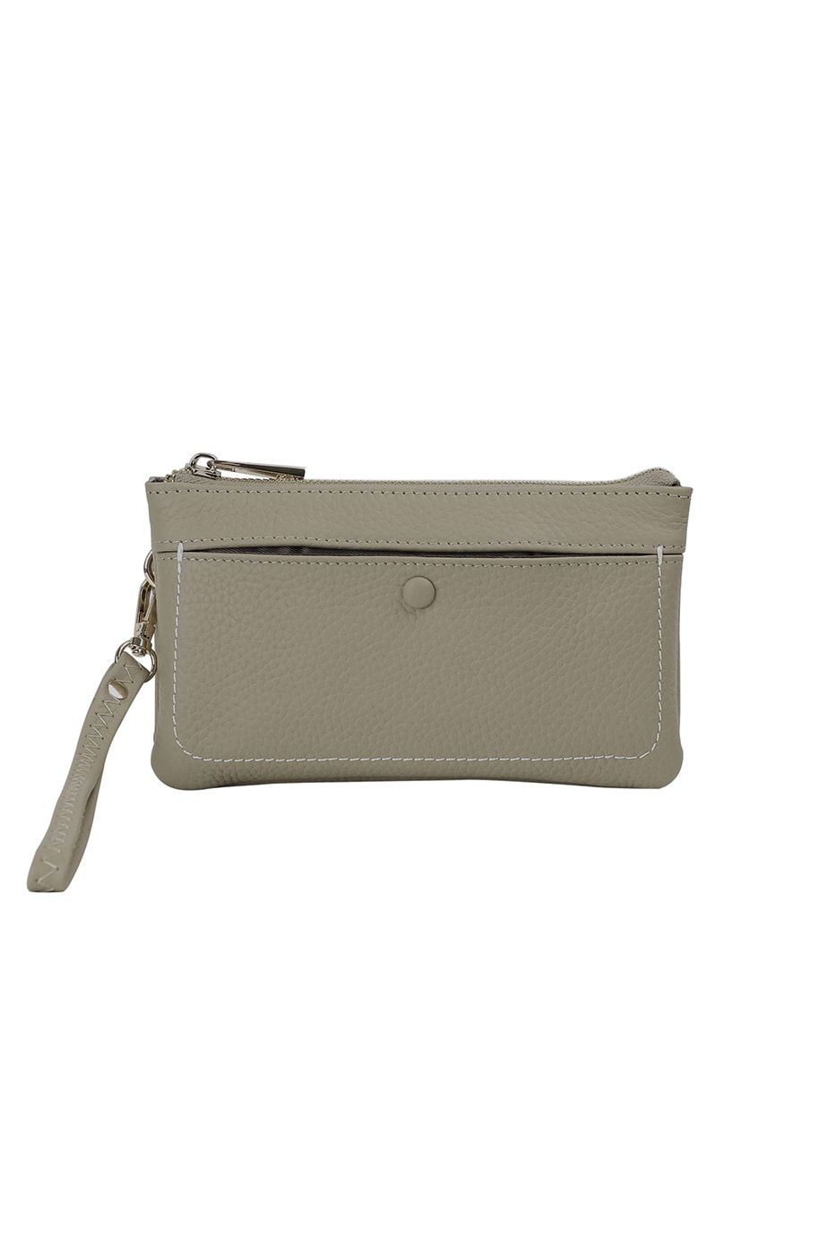 Wallet button two-way clutch bag