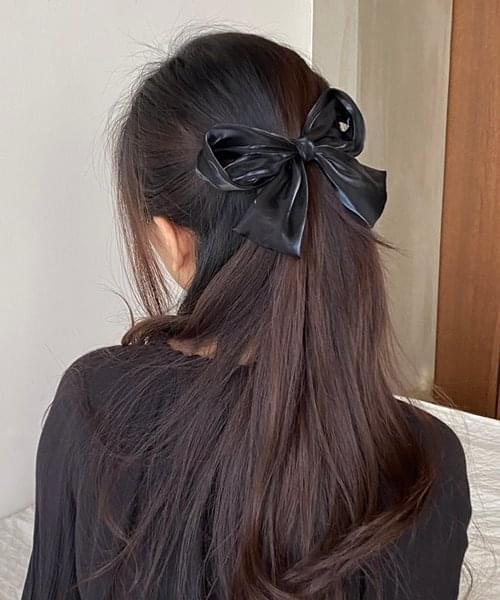 big ribbon hair pin