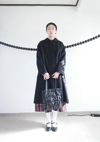 subdued wool handmade coat (2colors)