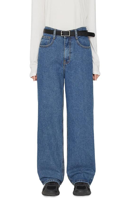 Ramee high-waist wide jeans 牛仔褲