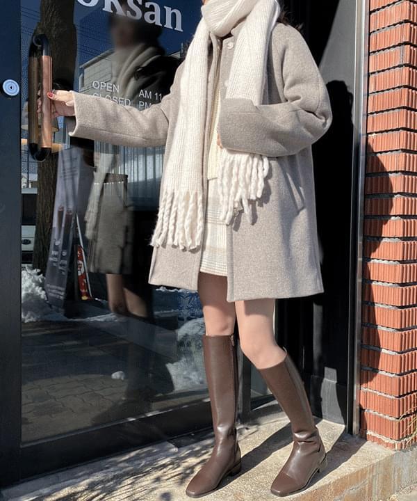 Ruen Single Coat-Mocha Same Day Shipping