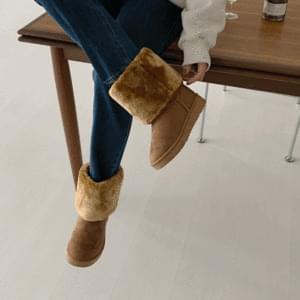 Winter Fluffy Long Ug Boots 4cm