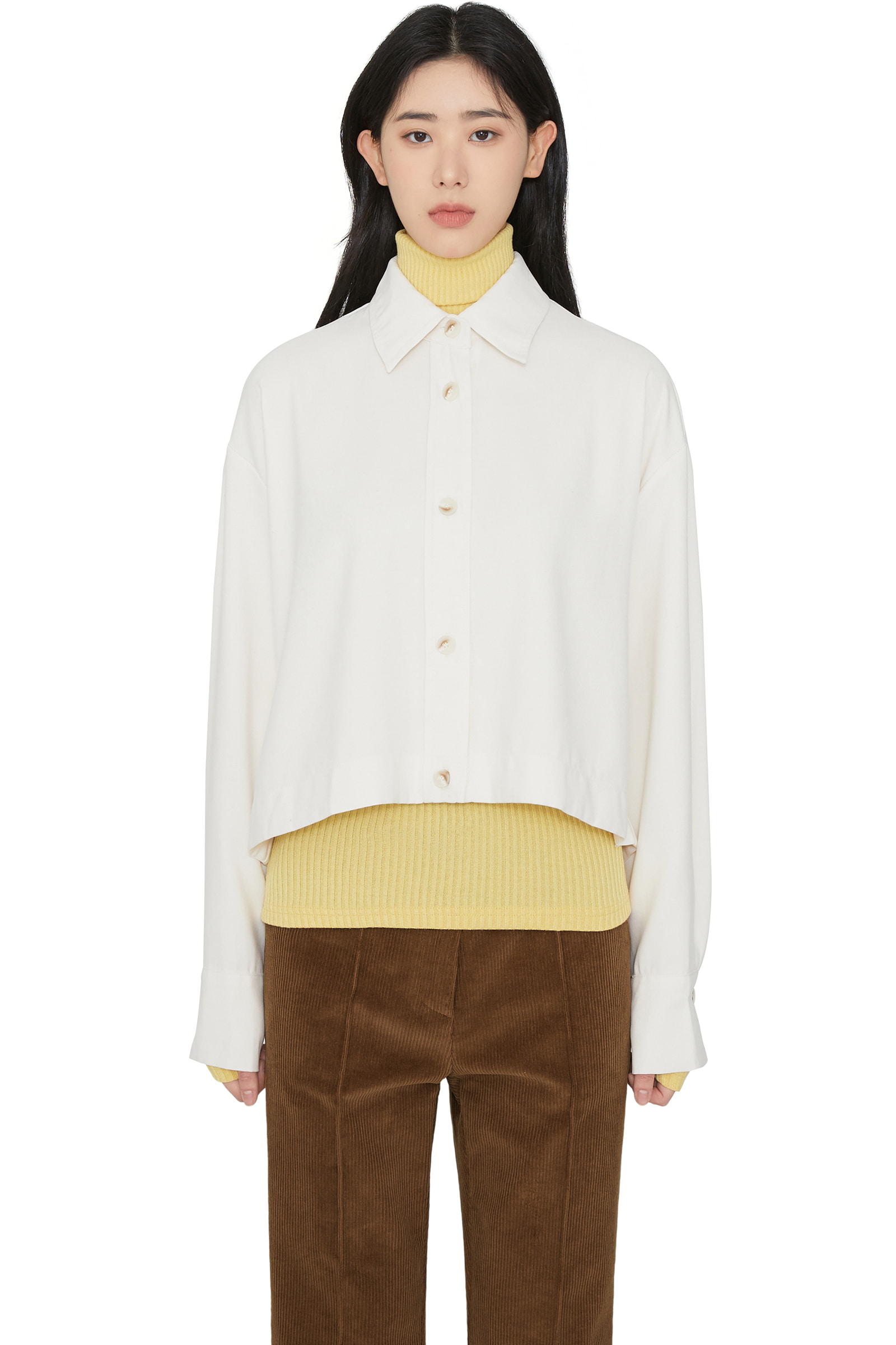 Willy cropped shirt