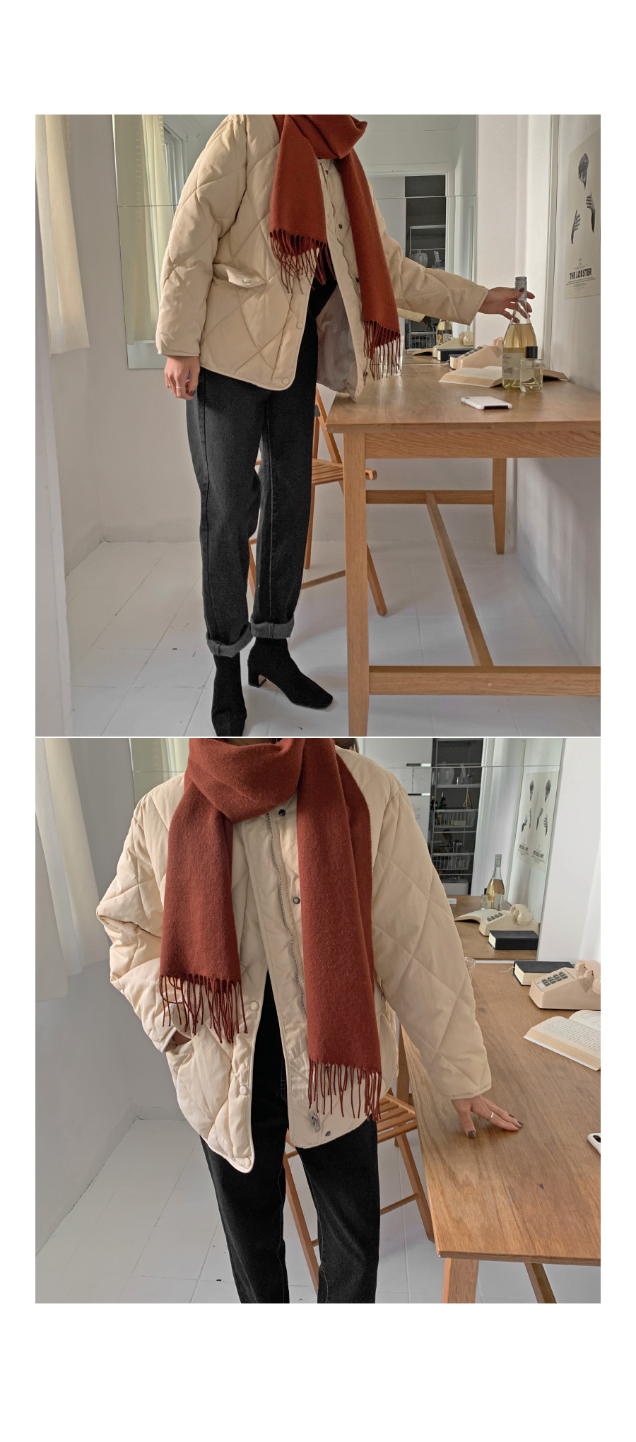 Minis wool scarf