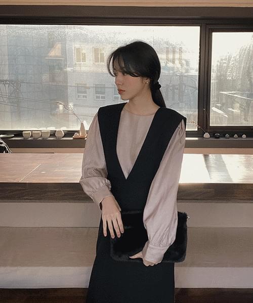 Square Fur Clutch & Shoulder Bag-3color