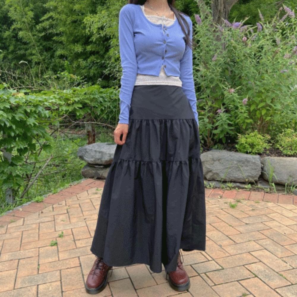 Island Cancan Long Skirt