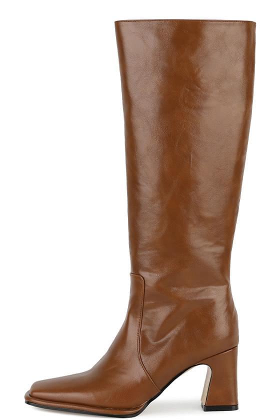 Maki high heel long boots
