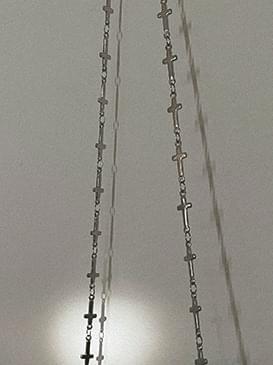 Maron Mask Band & Necklace