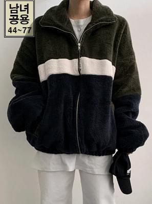 Color Wool Zip Business