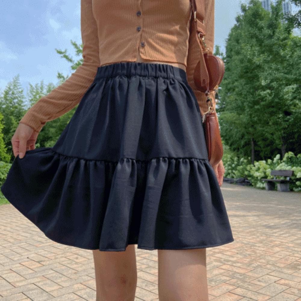 Mood Cancan Mini Skirt