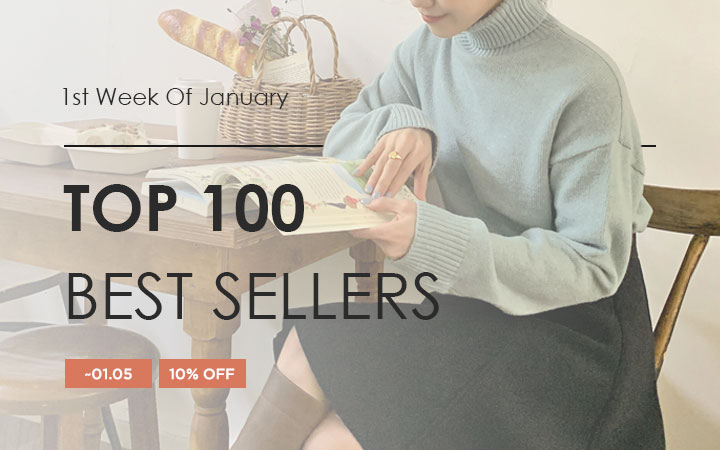 TOP 100 BEST SELLERS - 1st Week Of January