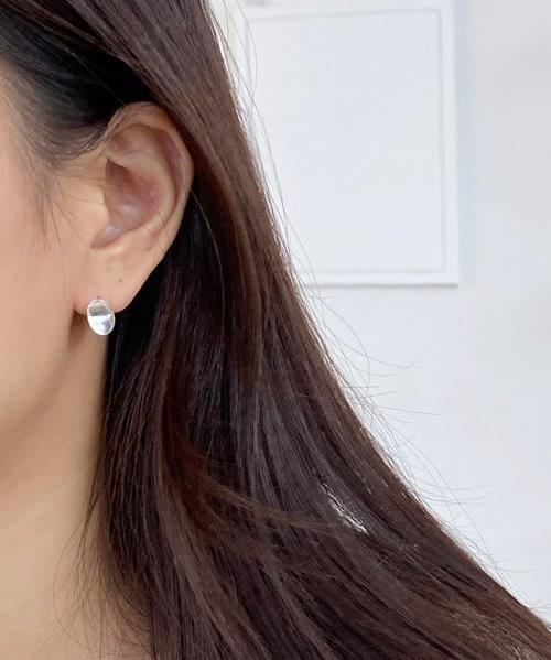 (silver925) match earring