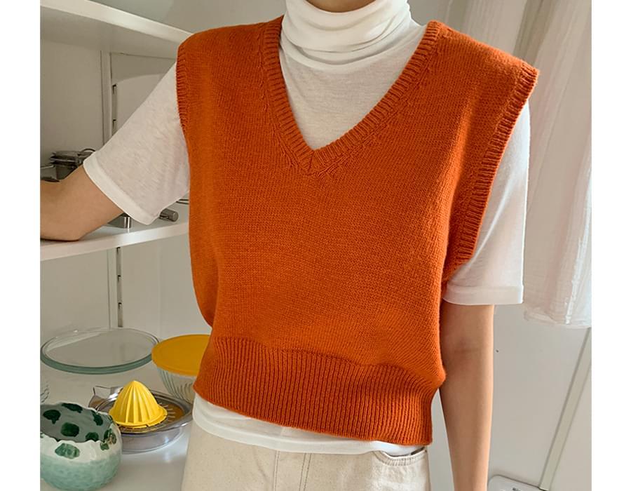 Low Wool Crop Knit Best
