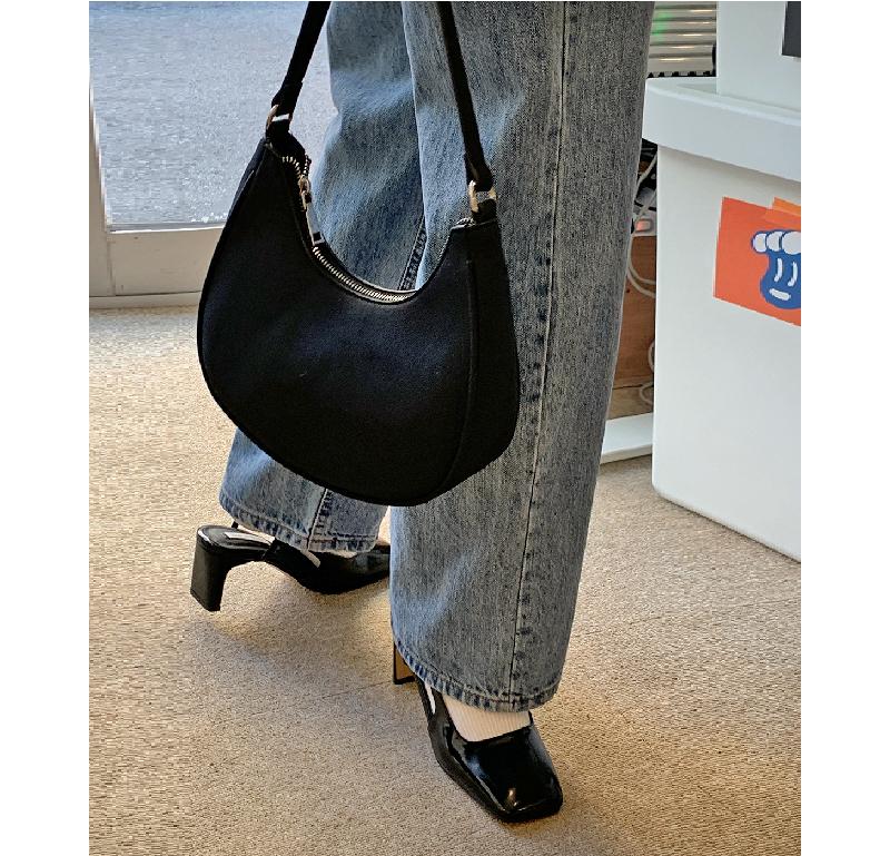 Mini Square Slingback Shoes