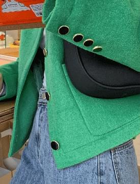 센슈얼 라운드울자켓 (2color)