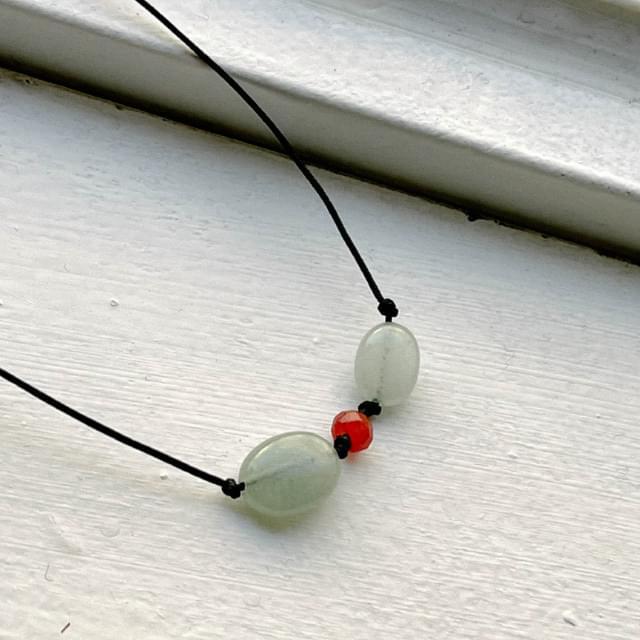 Monet gemstone necklace