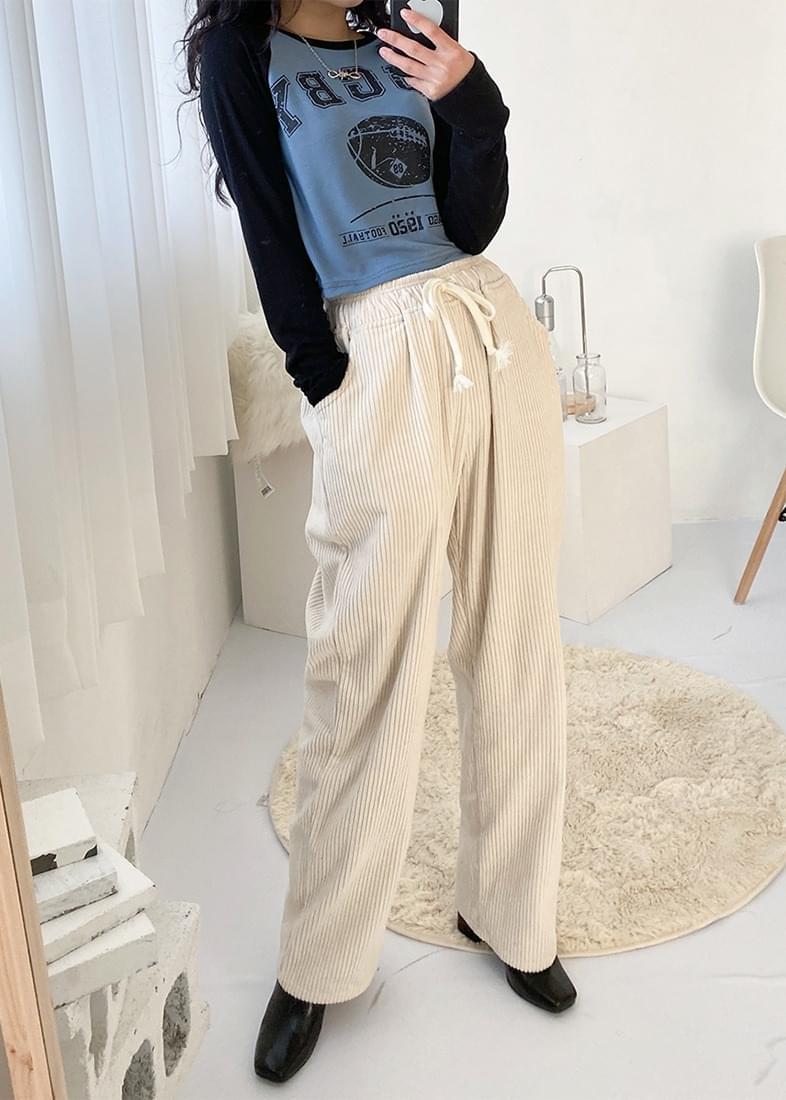 Soy velor wide pants