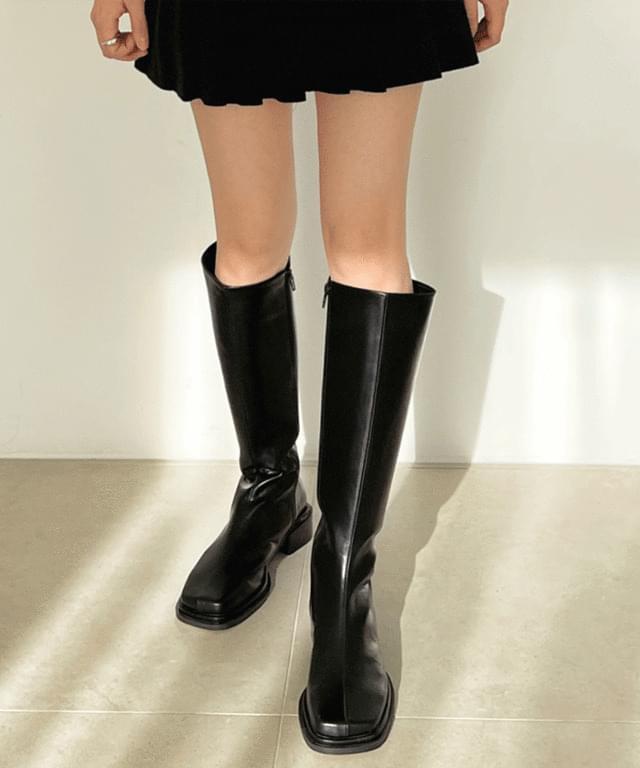 Maya square long boots