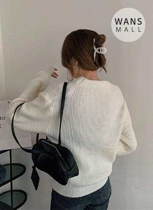 kn3575 shimmer shoulder point unique knit knitwears