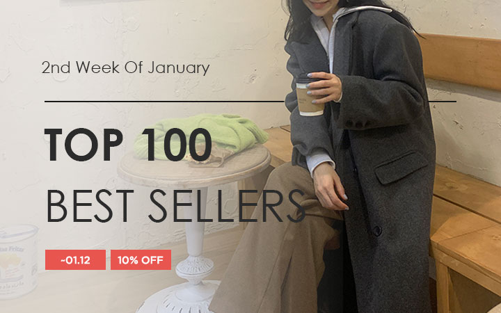 TOP 100 BEST SELLERS - 2nd Week Of January