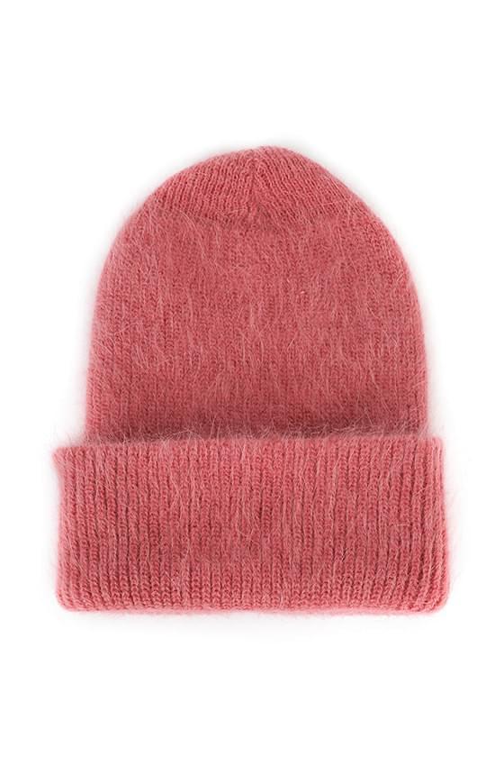 Winter Angora Beanie 帽子