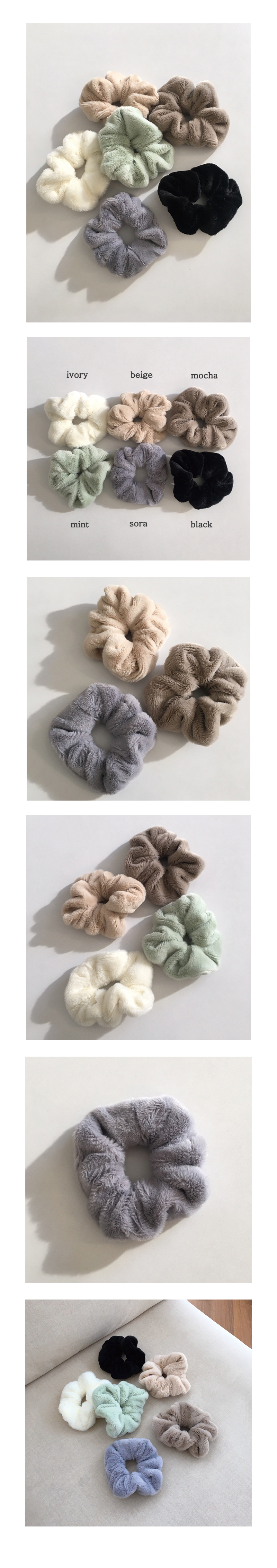 winter scrunchie