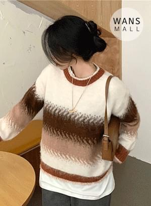 kn3537 hour gradient knit 針織衫