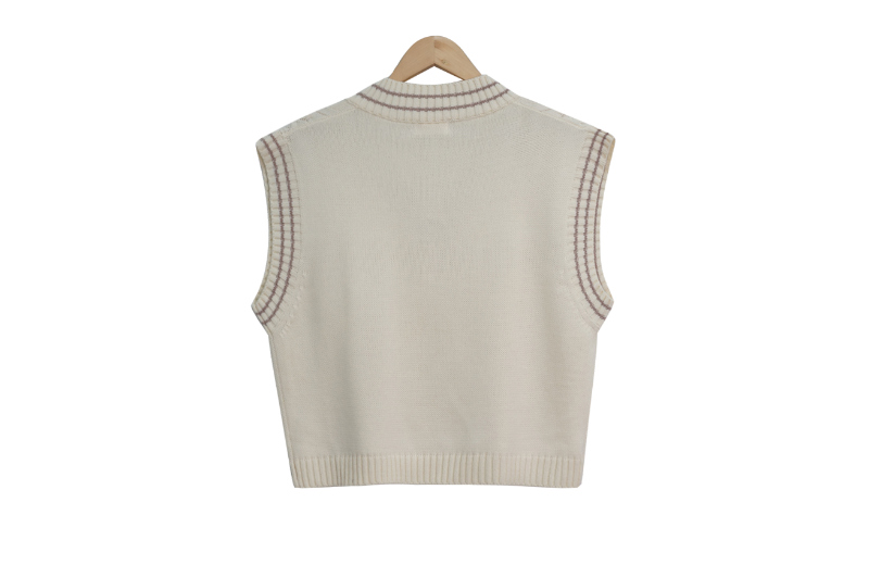 Sage Color Knit Vest