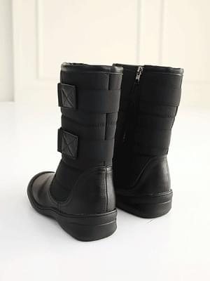 Palon padded middle boots 4cm