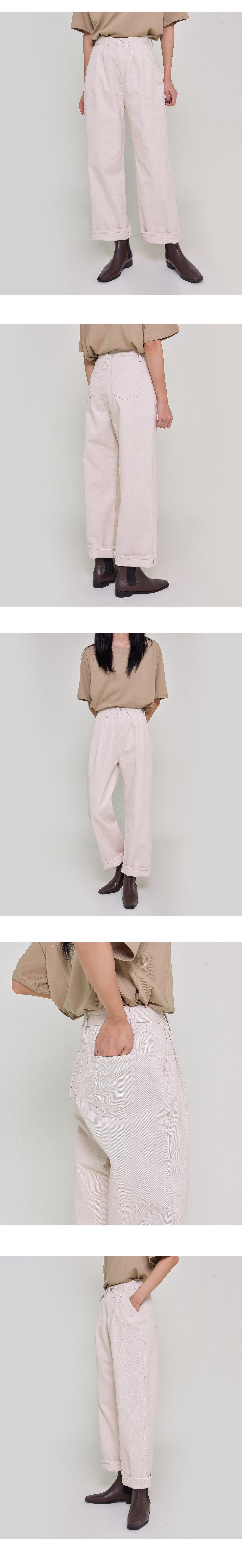 Nudy pintuck trousers