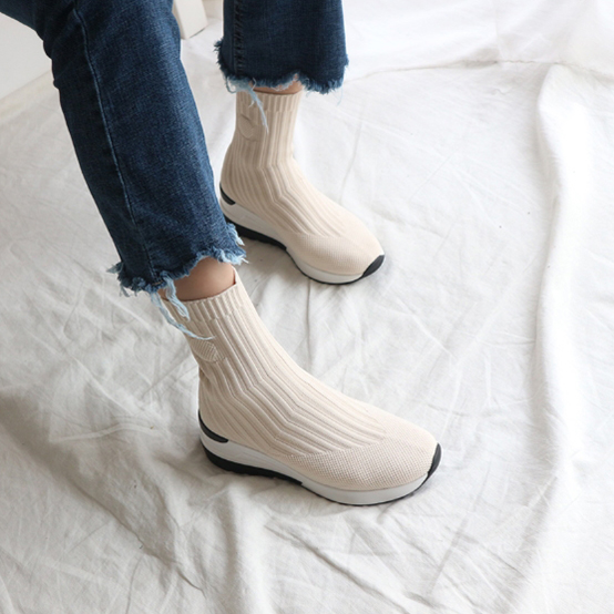 Jamming BK Knit Socks Sneakers