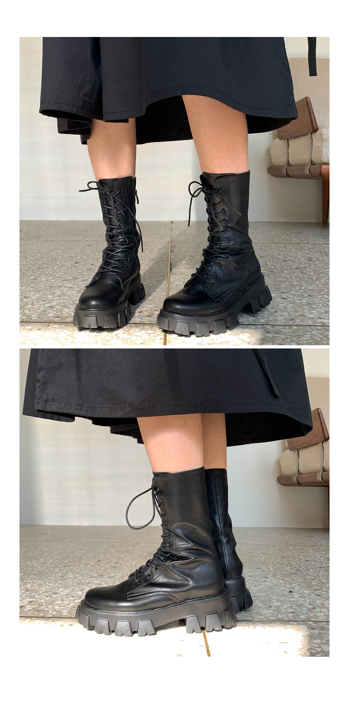 Lace-up Jay Walker Boots
