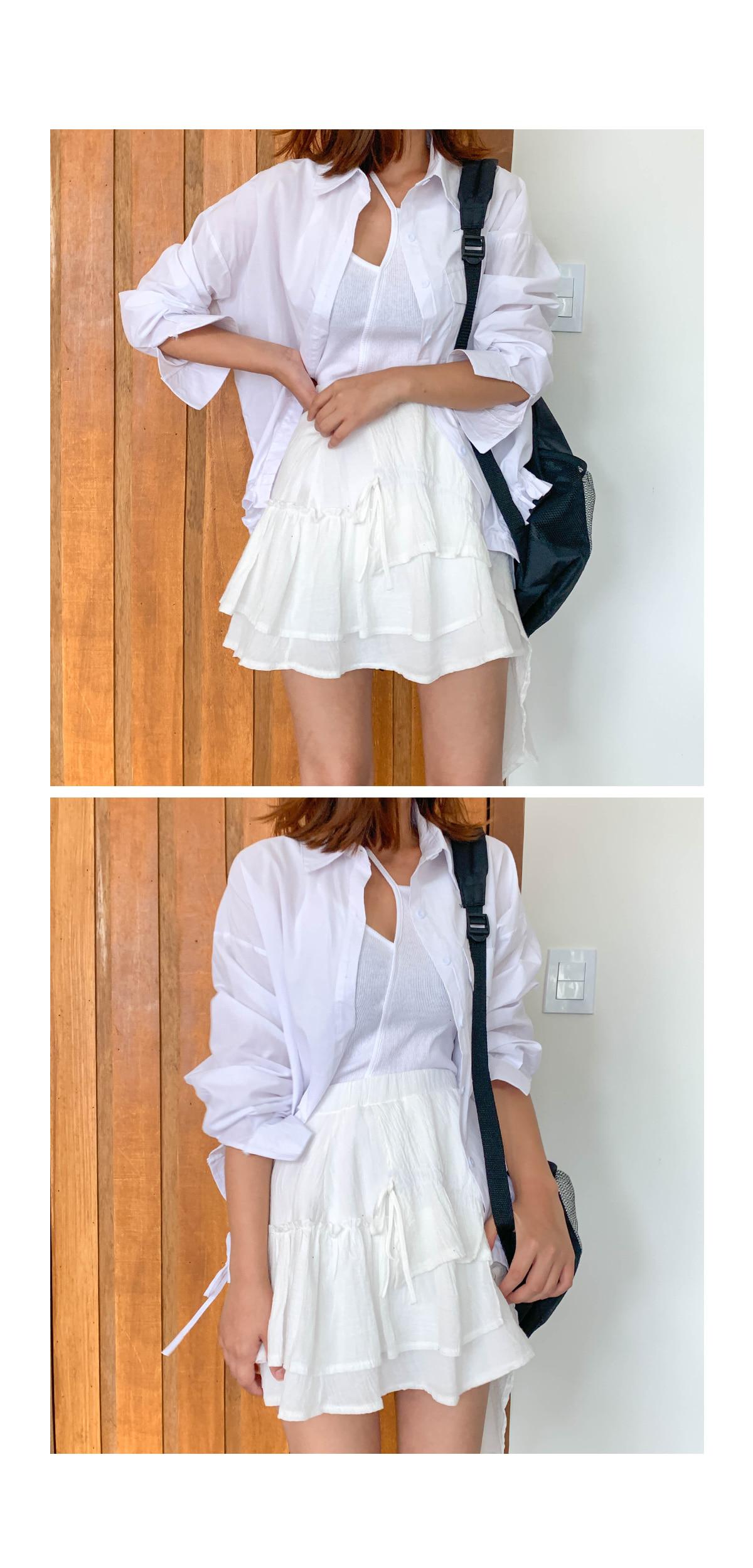 String time pocket shirt
