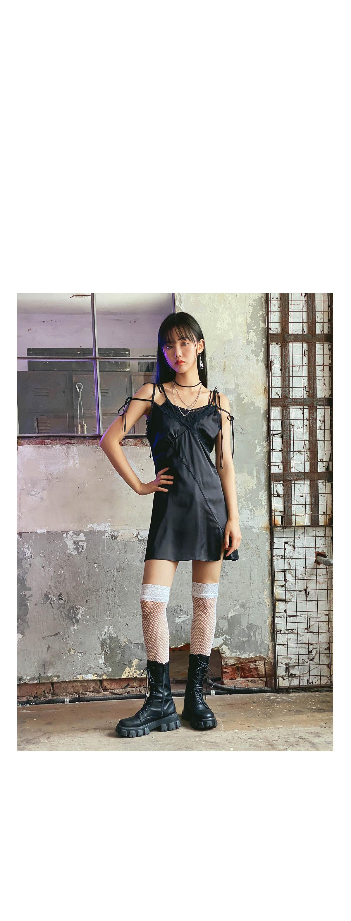 T-shirt slip dress