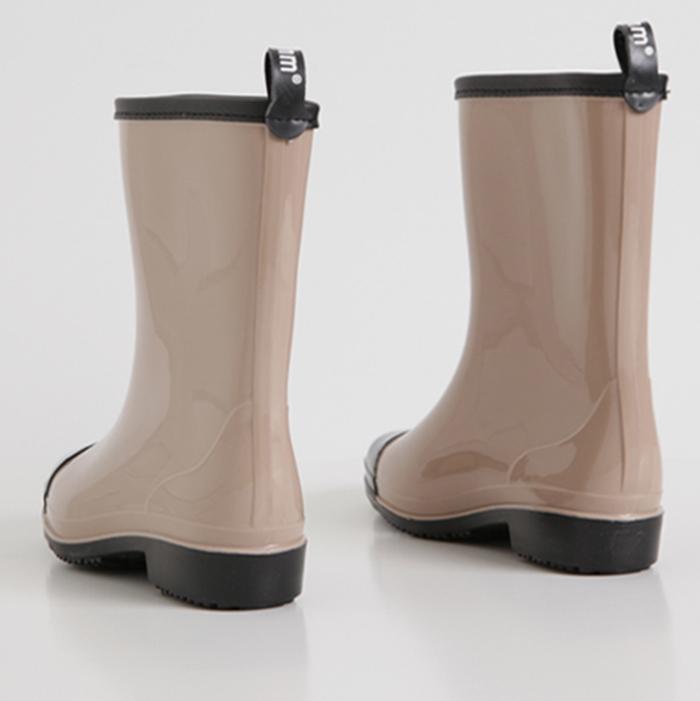 Jamming Rossi Enamel Rain Boots 1colors