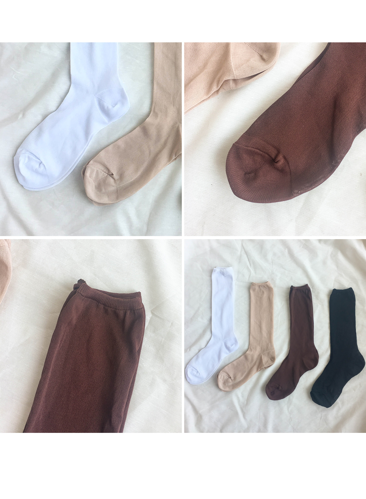 Reduce See Through Socks