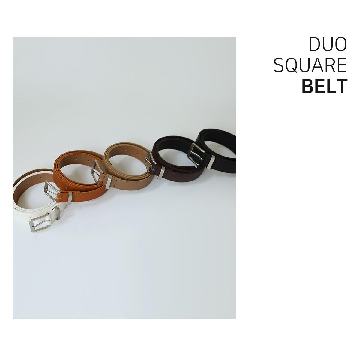 Duo square belt