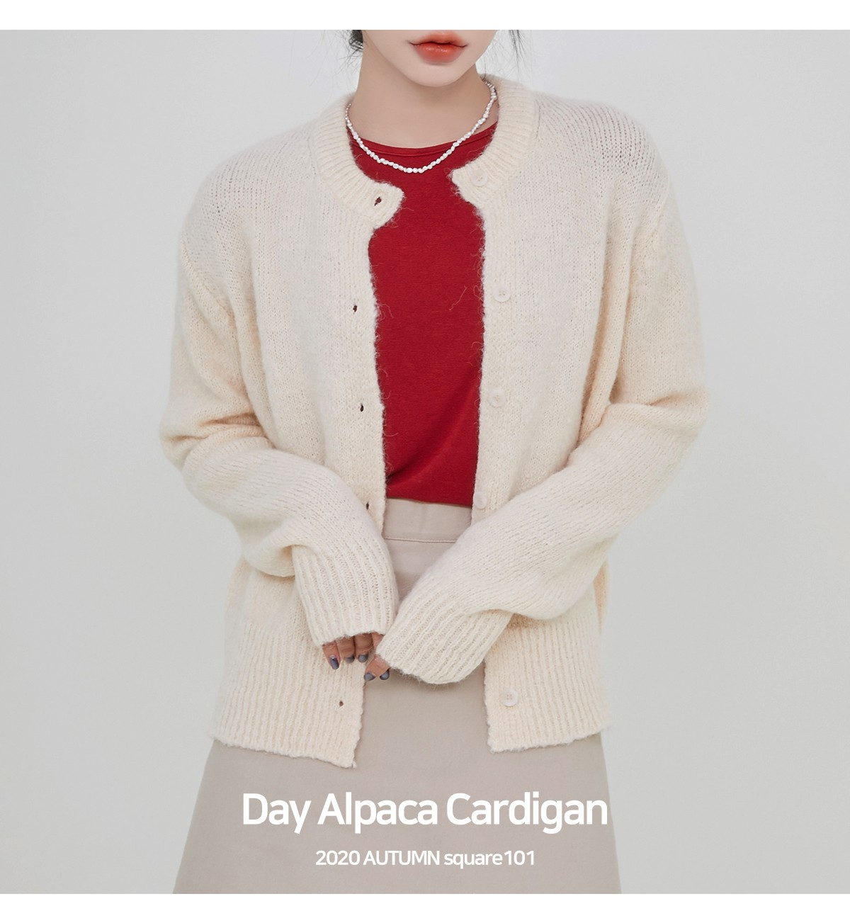 Day Alpaca Cardigan