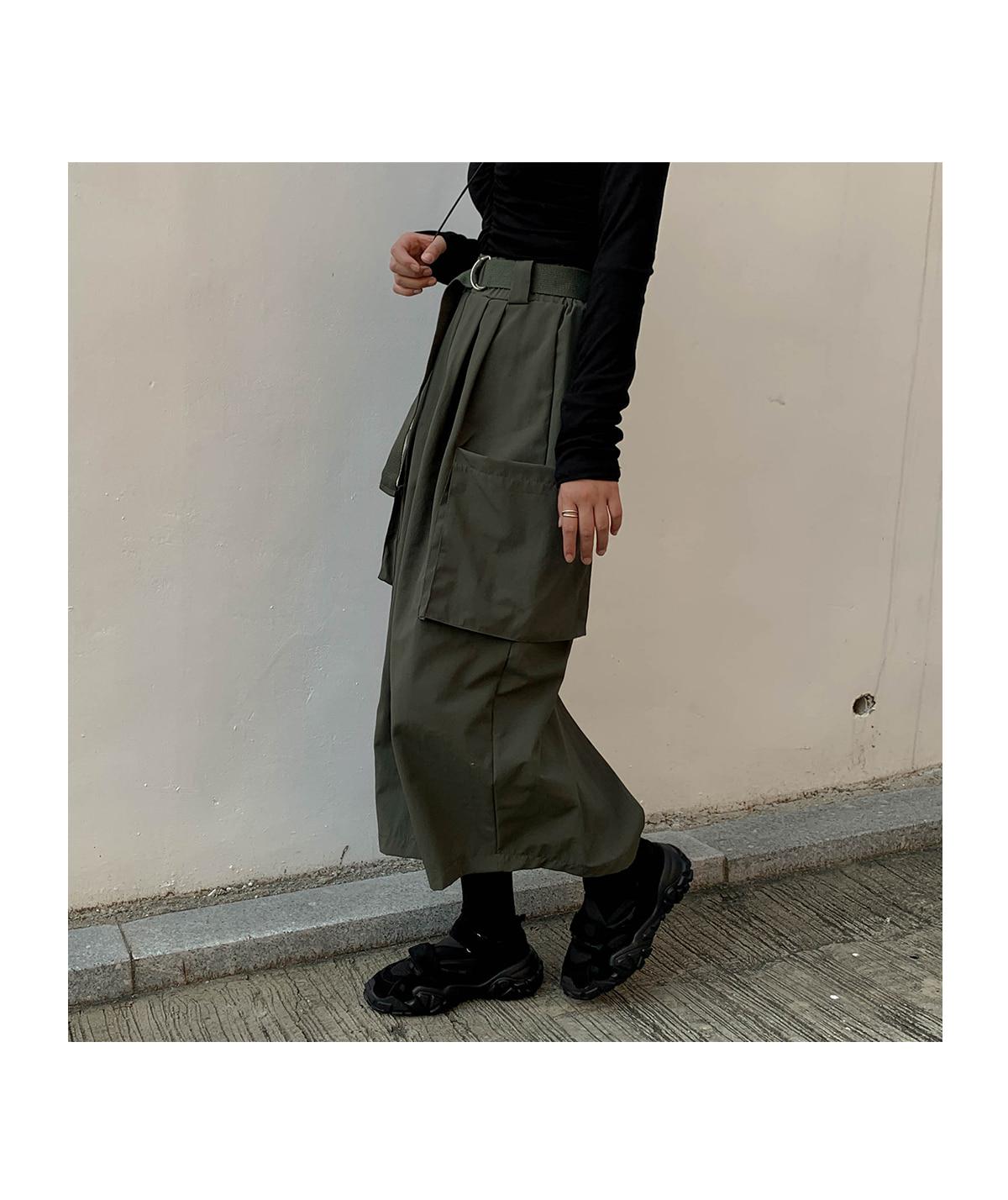 Oliver Cargo Long Skirt