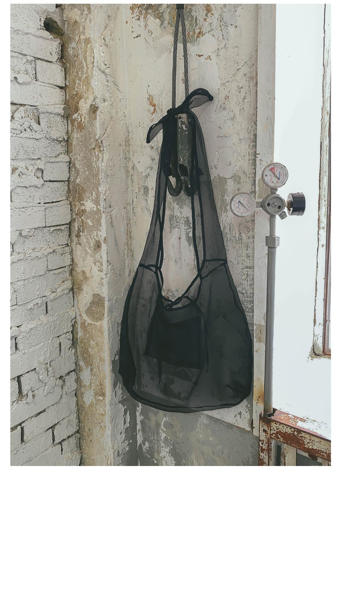 Rich See Through Eco Bag